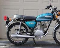 Ngắm nhìn Honda CB125S nguyên bản keng nhất thế giới