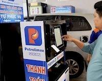 Các bước đổ xăng, thanh toán thẻ tại các cây xăng tự động