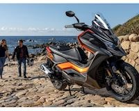 Kymco DT X360 2021 ra mắt, không có cửa với Honda X-ADV