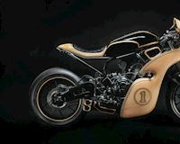 Yamaha XSR700 độ siêu độc đáo với bộ dàn áo làm từ gỗ