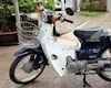 Honda Super Cub vẫn còn giữ nguyên bản, giá trị cực cao của tay chơi Việt Nam