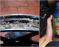 Chớ dại đổ keo tự vá cho lốp xe máy