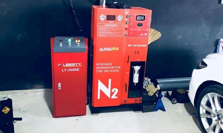 Giải đáp vài thắc mắc liên quan đến bơm khí nitơ cho lốp xe