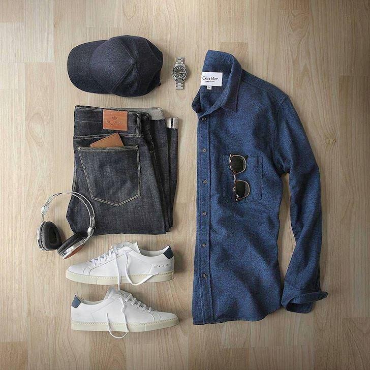 Chọn giày phù hợp với những kiểu quần cơ bản của nam giới
