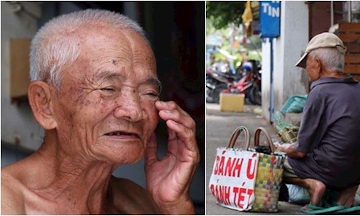 Cha già gần 100t 'Bánh ú đây' khắp ngõ Sài Gòn, mỗi ngày xách tay 20kg: Nuôi 2 con gái U50