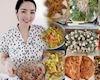 Hoa hậu Giáng My trổ tài nấu tiệc đãi bạn: 6 món dân dã nhưng dinh dưỡng khỏi chê