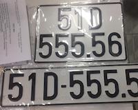 Bấm được biển số đẹp 51D-555.56 bị CSGT TP.HCM đòi lại?