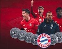 Bayern Munich vô địch Bundesliga dù chấp nửa mùa giải