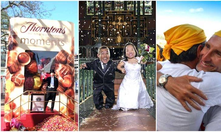 Dạo một vòng xem 10 Kỷ lục Guiness chuyện yêu, cưới khắp thế giới