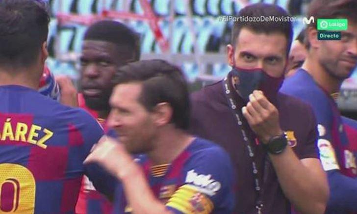 Barca hỗn loạn, Messi làm ngơ chỉ đạo của HLV
