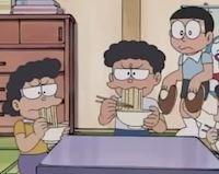 Ông chú ăn mỳ trong Doraemon là ai? Thân thế khủng cỡ nào?