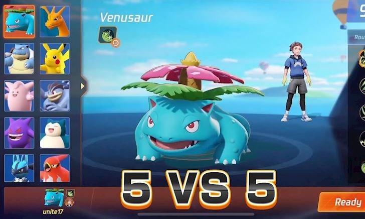 Game MOBA Pokemon Unite sắp ra mắt chính thức, chiến không anh em?