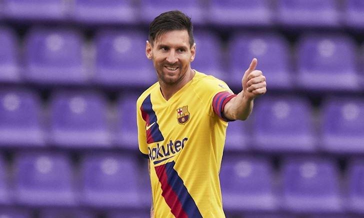 Một mình Messi chấp cả đội Everton cộng lại