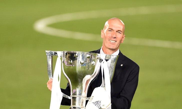 'Hoàng đế' Zidane vô đối về danh hiệu tại châu Âu