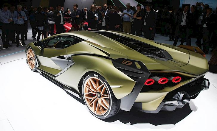 Nhung mau sieu xe nhanh nhat cua Lamborghini 7