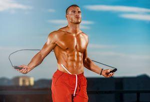"""Tập nhảy dây kết hợp gym đúng cách để nam giới có body """"đúng chuẩn"""""""