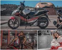 Biker nữ khoe chiến tích chạy Sài Gòn - Đà Lạt 3h45 bằng xe tay ga