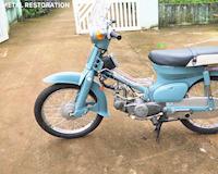 Đã mắt với khả năng phục chế Honda CUB C50 ra đời từ 42 năm trước