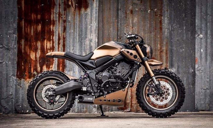 Honda CB650R độ phong cách chiến binh không thể đụng hàng