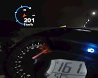 Chiếc Exciter đầu tiên đạt 205 km/h GPS ở Việt Nam