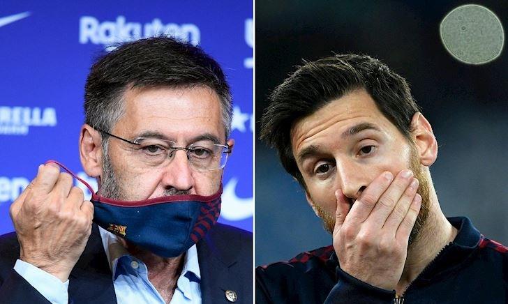 Bartomeu châm dầu vào lửa: Messi bị ép buộc phải giảm lương