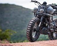 Yamaha XSR 155: từ xe cổ điển mà biến thành mô tô địa hình cực kỳ hầm hố