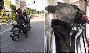 Yamaha Exciter 155 VVA lộ ảnh chạy thử tại Malaysia