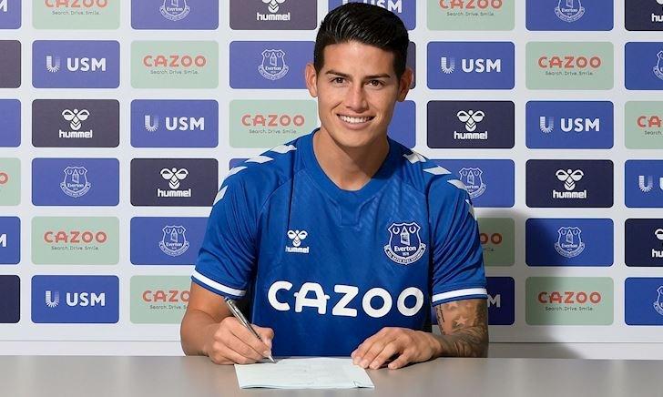 Chuyển nhượng 8/9: James Rodriguez gia nhập Premier League; MU bán 5 cầu thủ