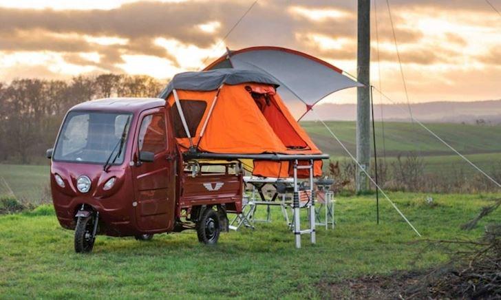 Chiếc xe cắm trại giá rẻ, tiết kiệm giá hơn 100 triệu đồng