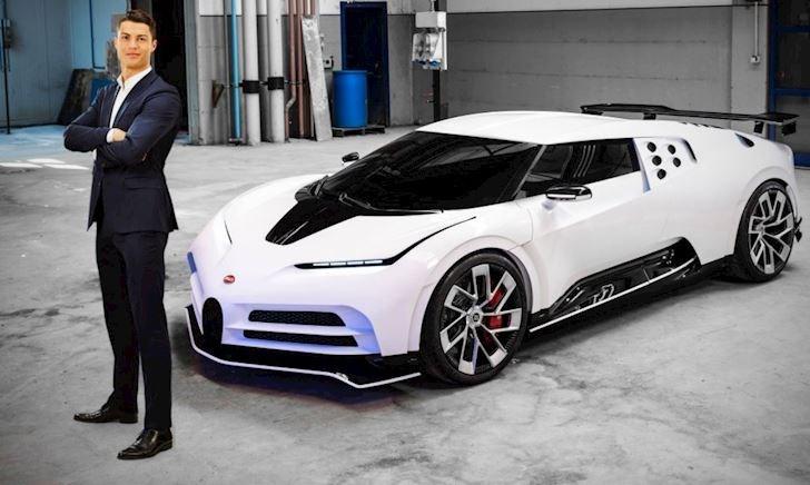 Cristiano Ronaldo chi 9,5 triệu USD tậu siêu xe Bugatti Centodieci