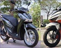 Nên mua SH150i hay chọn Click150i nhập Thái
