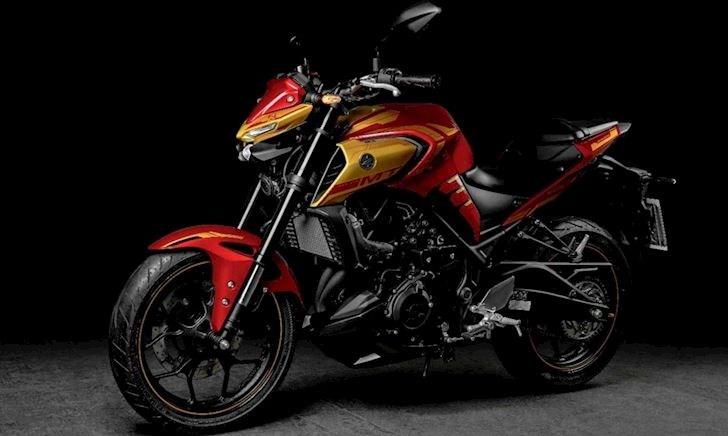 Yamaha MT-03 hóa thân trong màu áo Iron Man