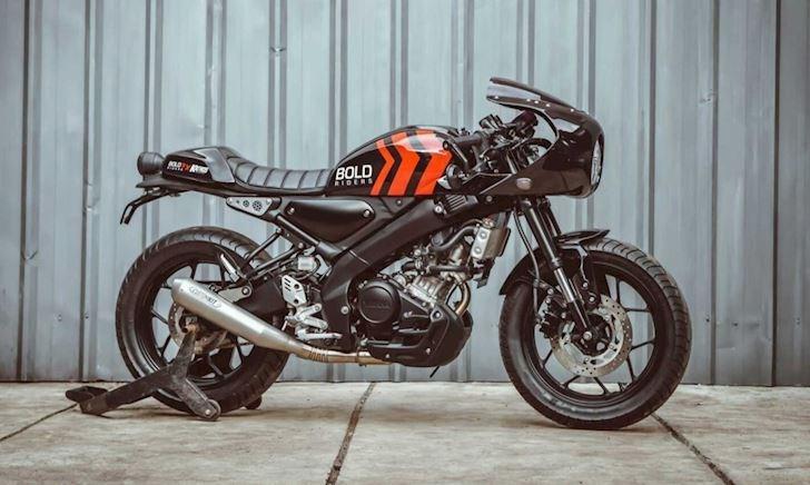 Yamaha XSR 155 độ nhẹ mang phong cách Cafe Racer đẹp mắt