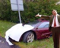 Mr Bean, người giữ kỷ lục về chi phí sửa xe