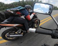 Video - Biker liều lĩnh nhưng cũng khó thoát khỏi xe bồ câu