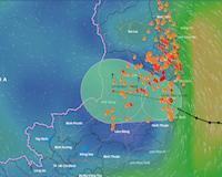 Áp thấp nhiệt đới đổ bộ từ Bình Định đến Ninh Thuận