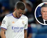 HLV Ancelotti nói thẳng không thích dùng Eden Hazard