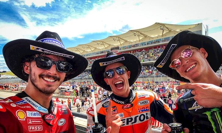 Chặng 15 MotoGP 2021, Marquez vẫn thống trị ở Austin