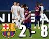Thua 1-4 trước PSG, ít ra Barca đã tiến bộ gấp đôi năm ngoái