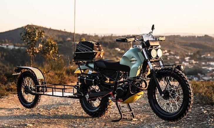 Yamaha TW125 được độ để chuyên dụng cho dân đi phượt