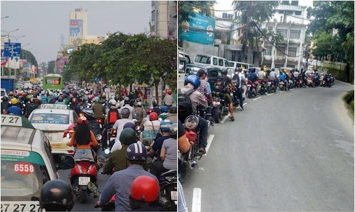 Chê giao thông Việt Nam hỗn loạn, nước ngoài cũng chẳng hơn