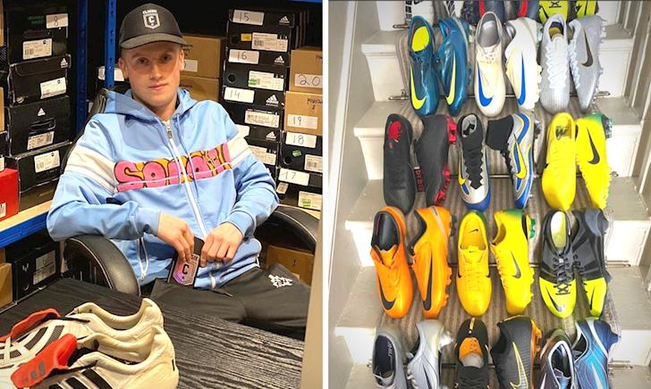 Tuyệt kĩ bán giày bóng đá cũ hái ra tiền của chàng trai 17 tuổi