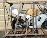 Mini Bike 2 thì Honda NSR50R 2004 siêu hiếm vừa đập thùng để bán đấu giá
