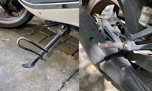 Những việc cần làm khi rửa xe, vệ sinh chân chống để không bị rỉ sét và hư hao