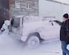 Thử nghiệm rửa xe dưới cái lạnh âm 40 độ C và kết quả bất ngờ