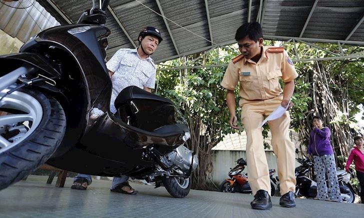 Thủ tục đăng ký xe tạm thời để lưu thông khi chưa có biển số