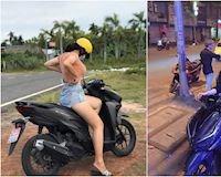 Honda Vario đọ dáng tự nhiên cùng các hotgirl có 'tâm hồn to đẹp'