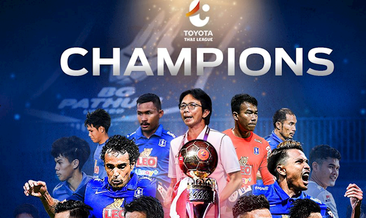 Bạn thân Kiatisak vô địch Thai League, tạo kỉ lục chưa từng có
