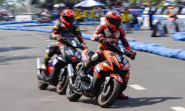 Sự khác biệt của Yamaha NVX phiên bản đua tại Việt Nam