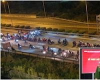 Khởi tố hàng loạt quái xế chặn xe trên cao tốc làm đường đua